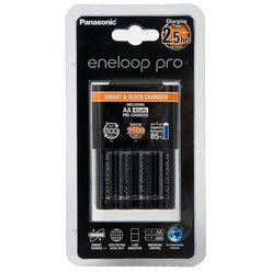 Panasonic Eneloop Pro Akkutöltő + 4db 2500mAh AA (120min)