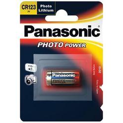 Panasonic Fotó Elem Lithium CR123 3V B1