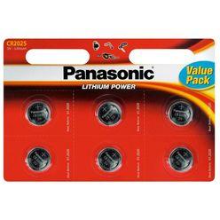 Panasonic Gombelem Lithium CR2025 B6