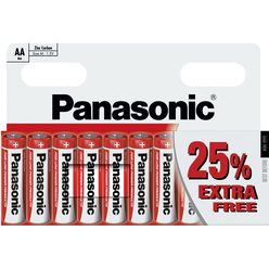 Panasonic Zinc Féltartós Ceruza Elem AA (R6RZ/10BP) B10