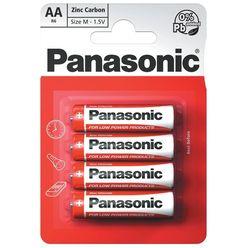 Panasonic Zinc Féltartós Ceruza Elem AA (R6RZ/4BP) B4