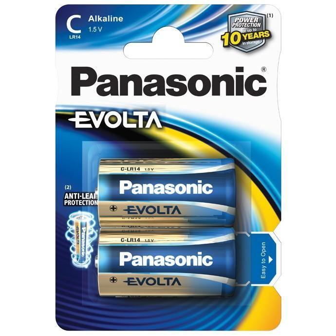 Panasonic Evolta Alkáli Elem Baby C (LR14EGE/2BP) B2