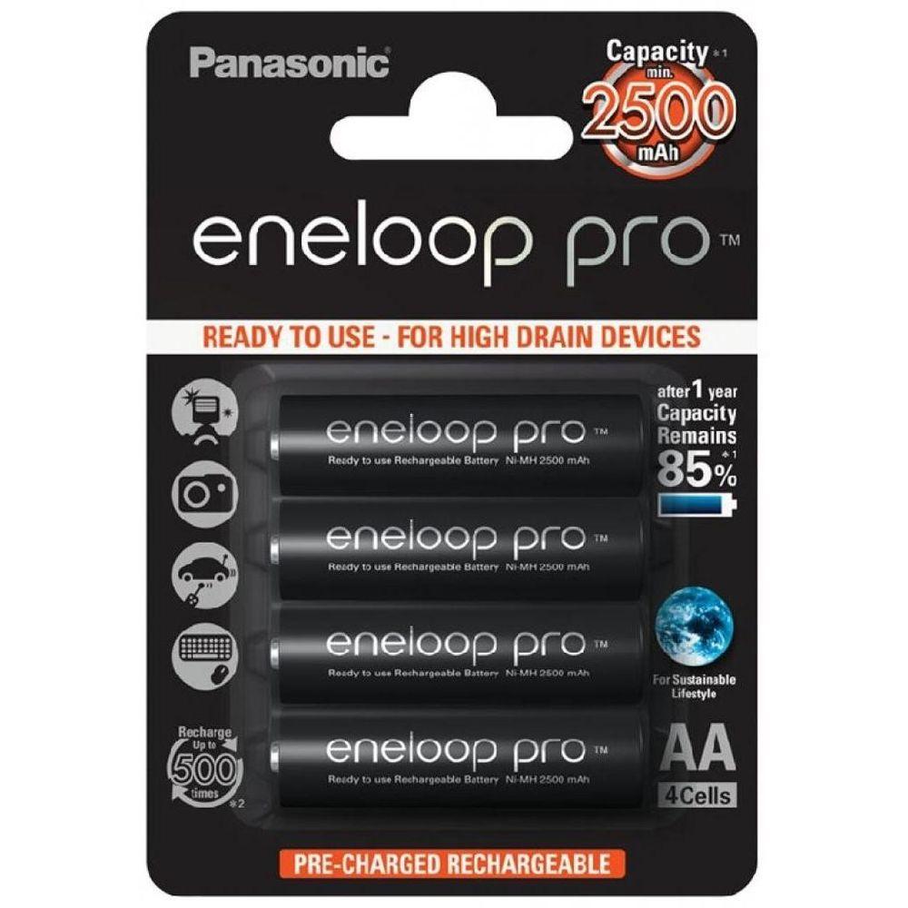 Panasonic Eneloop Pro Akkumulátor Ceruza 2500mAh AA B4