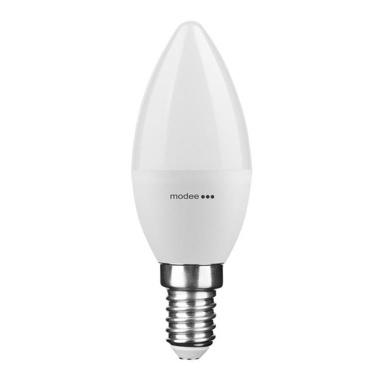 Modee Smart Lighting LED Izzó Gyertya (Candle) 7W E14 200° 6000K (550 lumen)