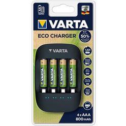 VARTA Akkutöltő ECO + 4 x 800mAh R2U AAA