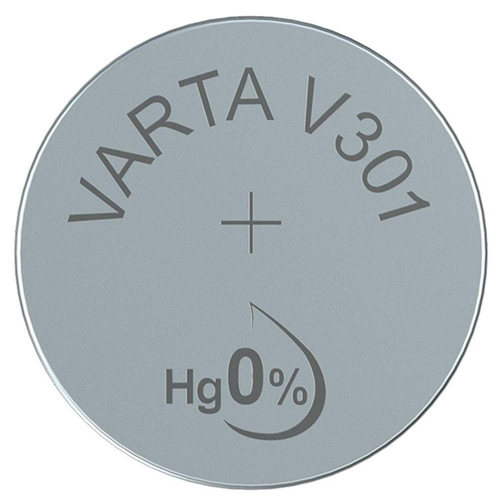 Varta Gombelem Ezüst-Oxid V301