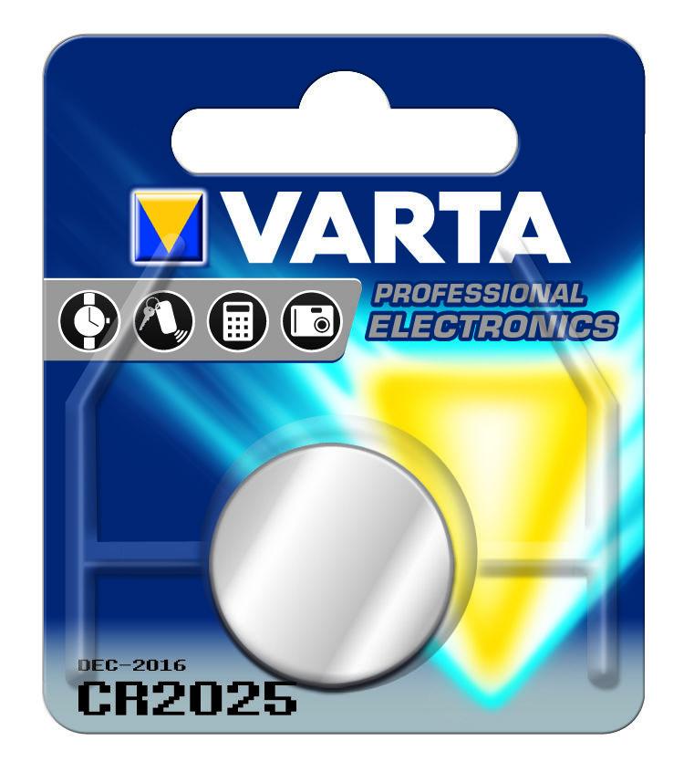 Varta Gombelem Lithium CR2025 B1