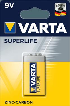 VARTA Superlife Féltartós 9V Elem B1