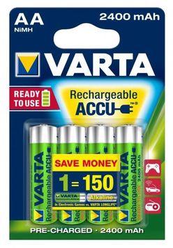 VARTA Akkumulátor R2U Ceruza 2400mAh AA B4