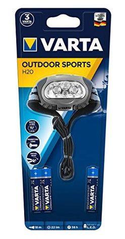 VARTA Fejlámpa Outdoor Sports H20 (+3AAA)