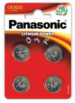Panasonic Gombelem Lithium CR2025 B4