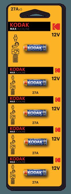 Kodak Ultra Alkáli Riasztó Elem A27 (12V) B5