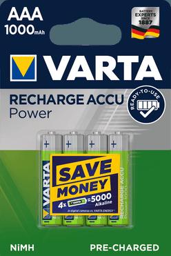 VARTA Akkumulátor R2U Mikro 1000mAh AAA B4