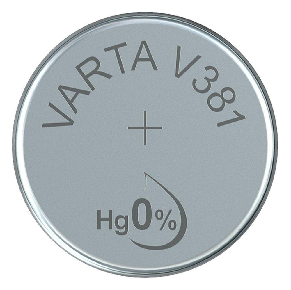 Varta Gombelem Ezüst-Oxid V381