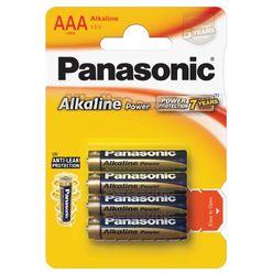 Panasonic Bronze Alkáli Mikro Elem AAA (LR03APB/4BP) B4