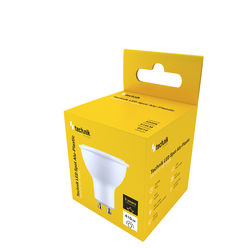 Technik LED Izzó Spot Alu-Plastic 5W GU10 100° 6000K (410 lumen)