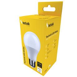 Technik LED Izzó Globe A60 12W E27 270° 2700K (975 lumen)