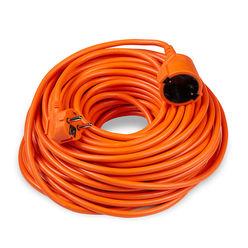 Technik Hosszabbító 1 utas 30m kábellel 3x1,5mm2 (narancs színű) 16A