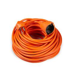 Technik Hosszabbító 1 utas 20m kábellel 3x1,5mm2 (narancs színű) 16A