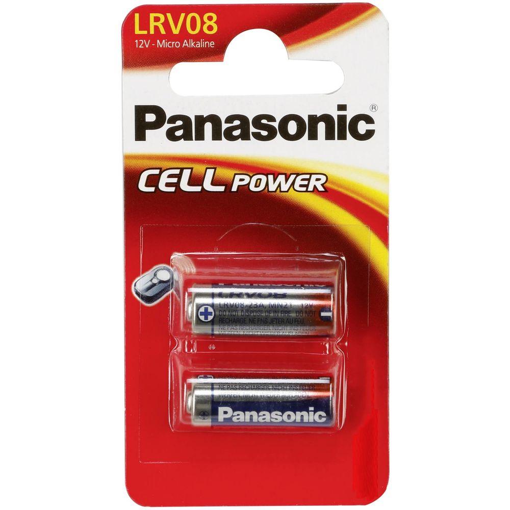 Panasonic Riasztó Elem Alkáli LRV08 B2
