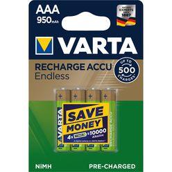 VARTA Akkumulátor Endless Energy R2U Mikro 950mAh AAA B4