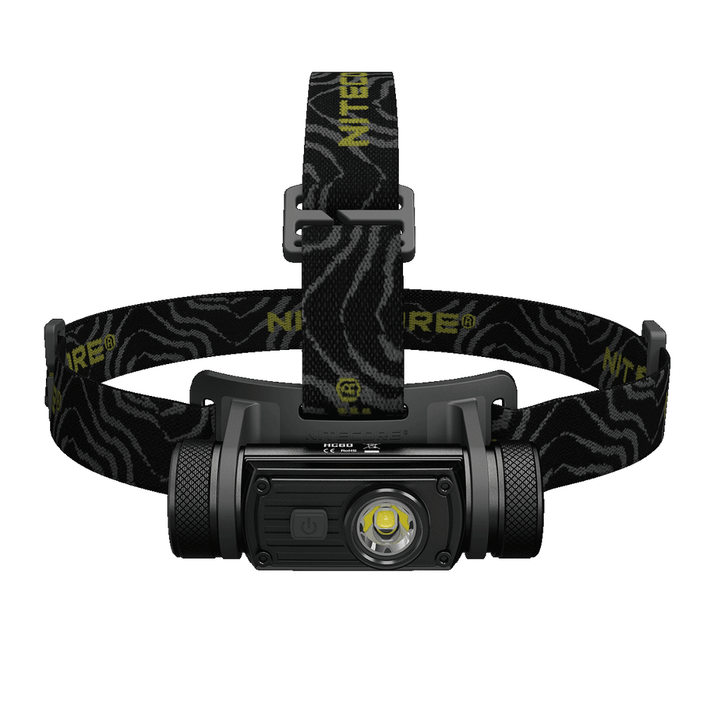 Nitecore Fejlámpa HC60 (18650 - tartozék) + USB CREE XM-L2 U2 (1000 lumen)