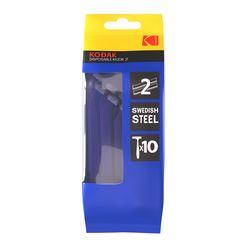 Kodak Eldobható Borotva 2 Pengés Kék (10darab/csomag)