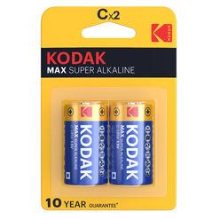 Kodak Max Alkáli Baby Elem C (1,5V) B2