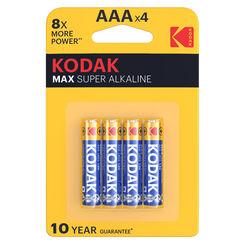 Kodak Max Alkáli Mikro Elem AAA (1,5V) B4