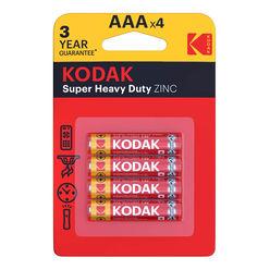 Kodak Extra Zinc Féltartós Mikro Elem AAA (1,5V) B4