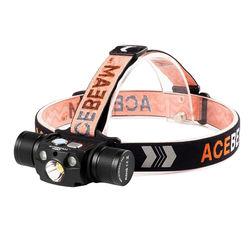 Acebeam Fejlámpa H30 R+G (1x21700) CREE XHP70.2 (4000 lumen) Fekete