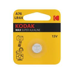 Kodak Max Gombelem Alkáli AG13 / LR44 / A76 (1,5V) B1